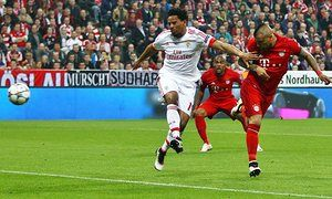 Bayern Munich beat Benfica in the 2016 Champions League game thanks to a second-minute winning goal from Arturo Vidal.
