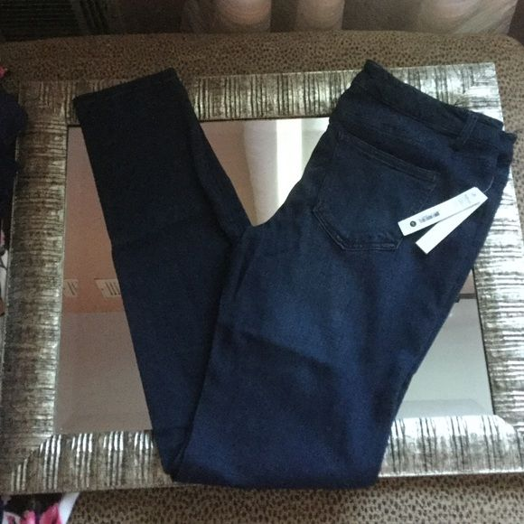 Reduced!  New Aqua Jean Legging Sz 31x32 New with tags Aqua Jean leggings in indigo. They are size 31x32. Aqua Jeans