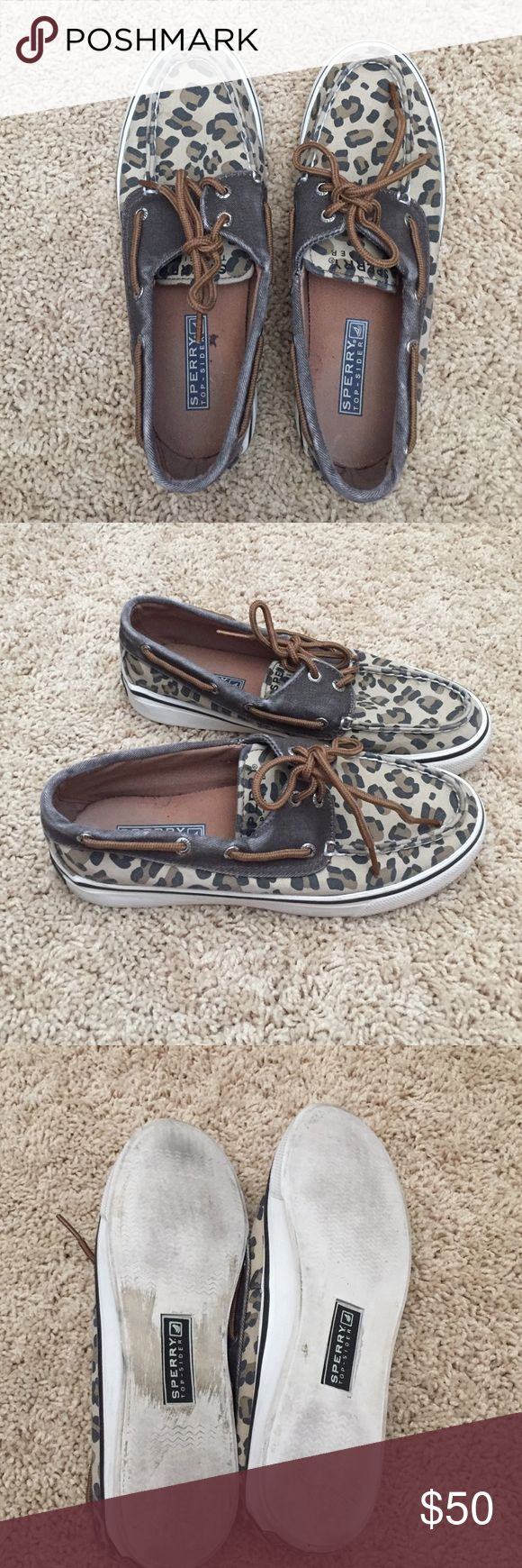 Leopard Sperry top-sider Great condition Sperry Top-Sider Shoes