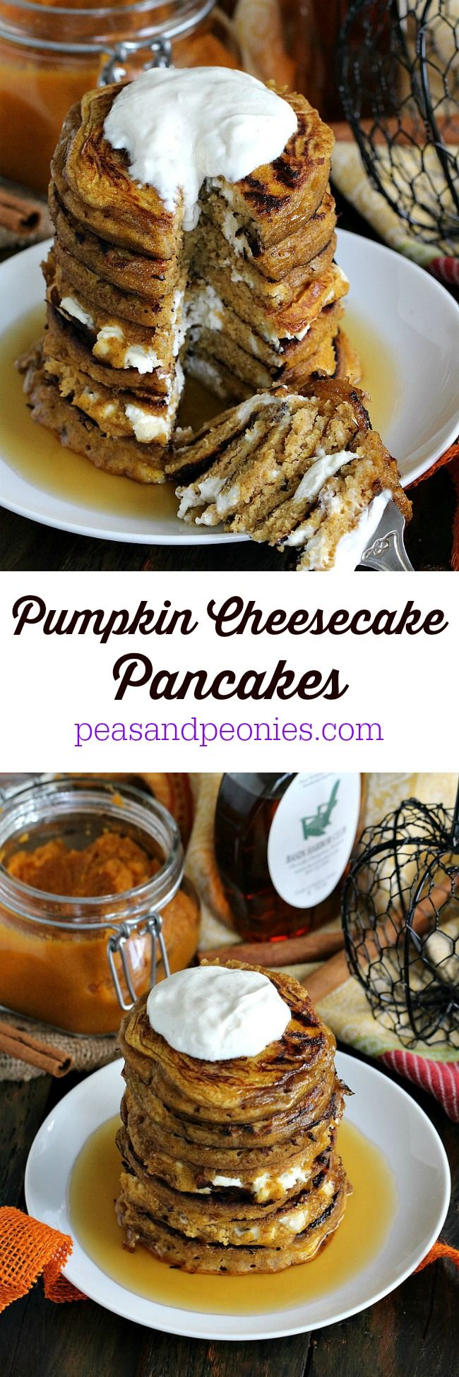 Pumpkin Cheesecake Pancakes PIN17