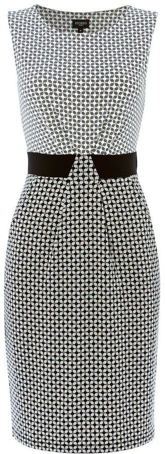 Hobbs Diamond geo dress