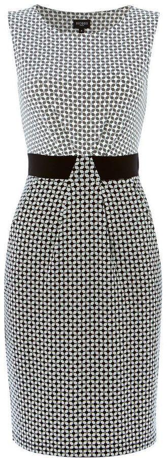 Hobbs Diamond geo dress