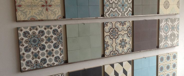 Zementfliesen | Fliesen, Naturstein, Zementfliesen / Keramik Loft Hannover