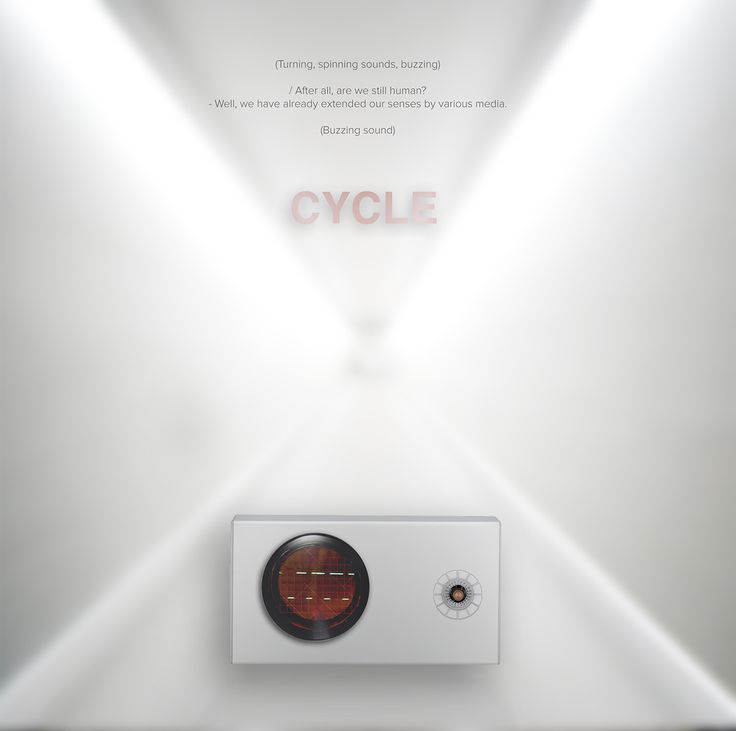 Cycle   The Dialogue / Poster by Gumwörk   2016