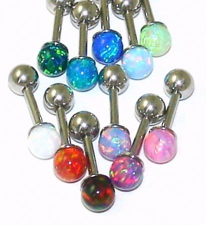 opal ear cartilage jewelry