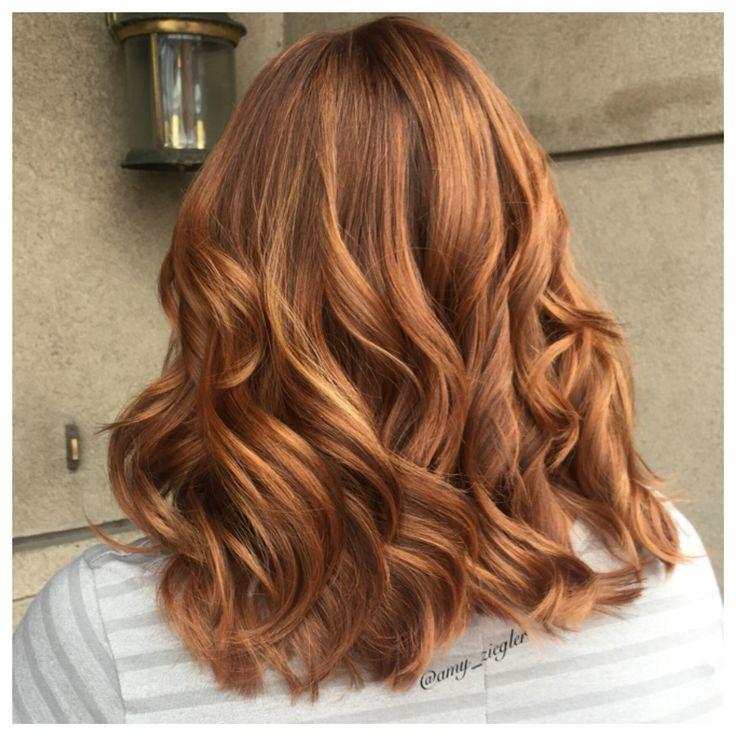 Redhead copper redken haircolor by @amy_ziegler # ...