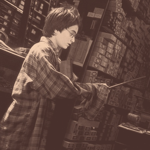 """The wand chooses the wizard, Mr. Potter"" - Mr. Olivander"