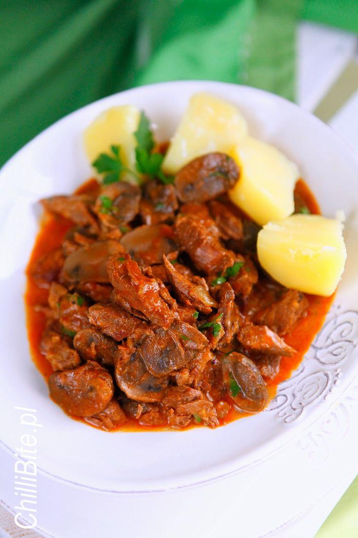ChilliBite.pl - motywuje do gotowania!: Najlepszy boeuf strogonow