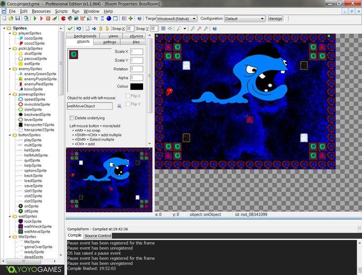 """""""Coco returns"""" has been developed with GamaMeker Studio framework"""
