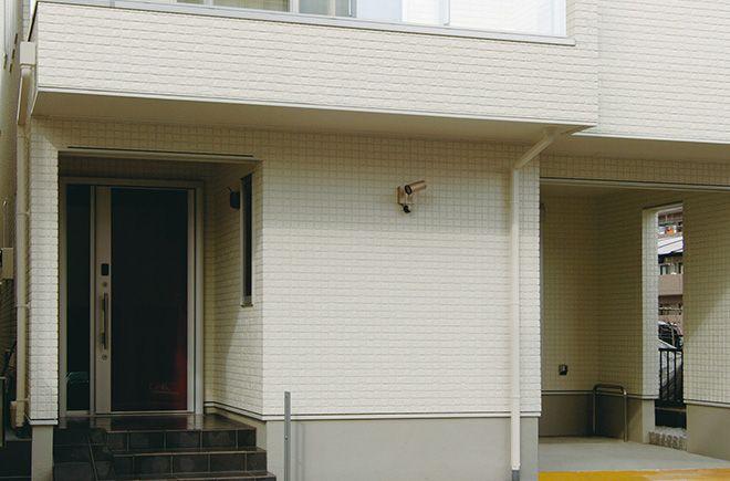 施工例 ドルチェvz 外壁 外装メーカーの旭トステム外装株式会社 住宅建材 家 外観 施工