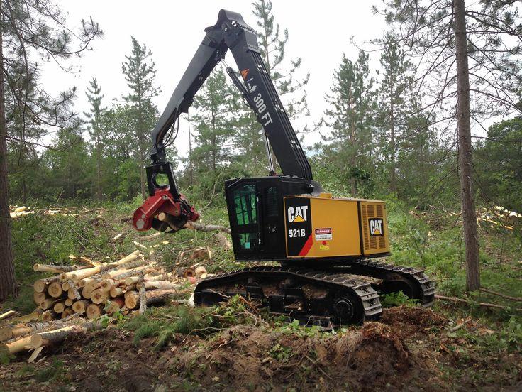 #CAT Track Feller Bunchers & Harvesters Upgraded for Faster, Smoother Harvesting   Rock & Dirt Blog Construction Equipment News & Information #Forestry #FellerBunchers
