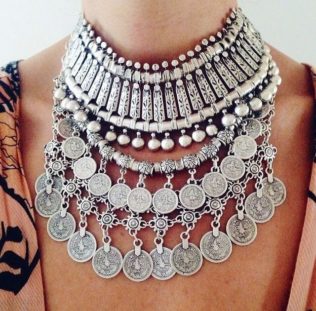 Get the look with the Wild as the Wind Necklace!  http://gypsywarrior.com/wild-as-the-wind-necklace.html