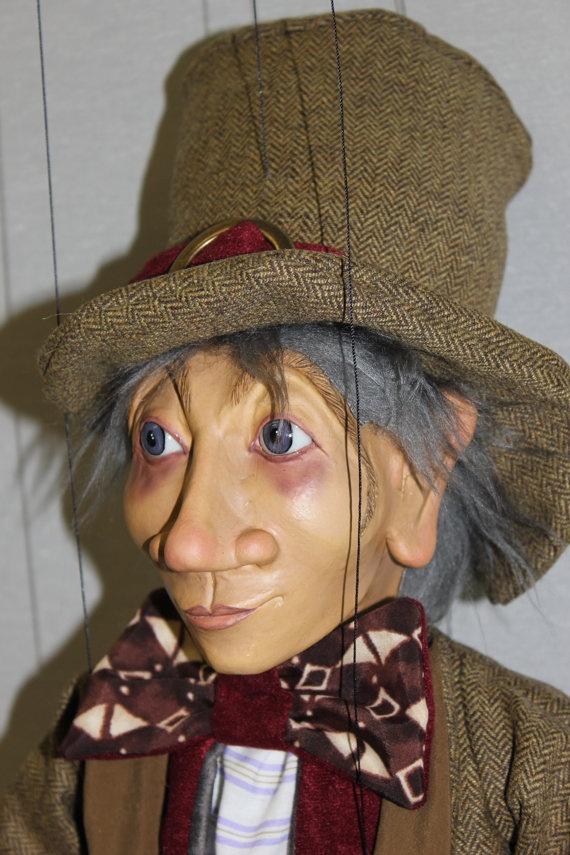 marioneta enano titere puppet ooak artdoll por Etceteramarionetas, $202,00