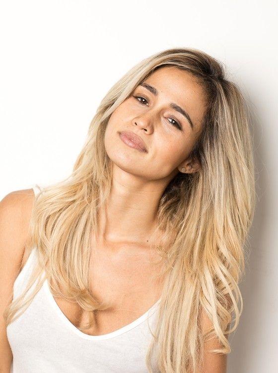 Nanda Costa aparecerá louríssima em sua volta à TV. A atriz diverte-se e diz que é uma loura um pouco falsa, de farmácia mesmo (Foto: Jorge Bispo)