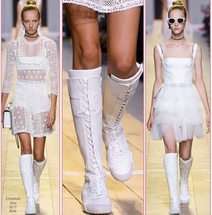 Trend Watch – Lace-up Knee High Boots Trainers «  Fashion Blog