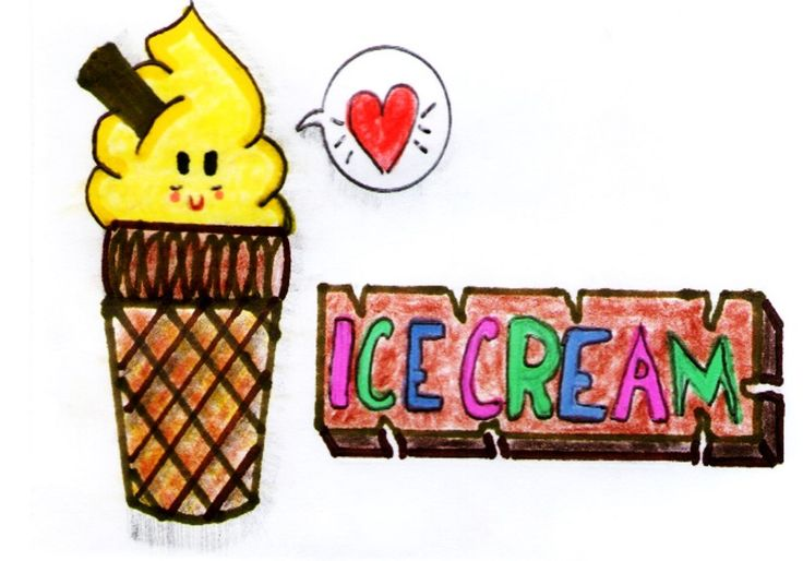 Ice Cream Kawaii...