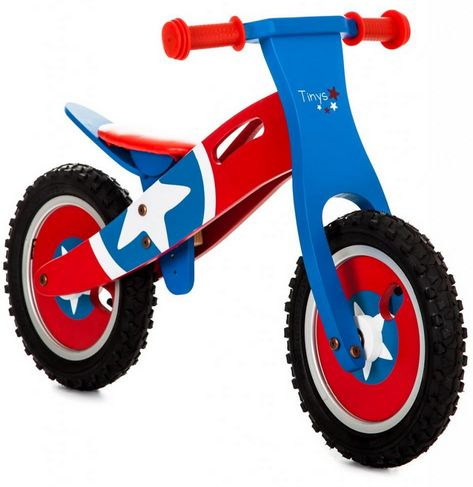 captain america balance bike