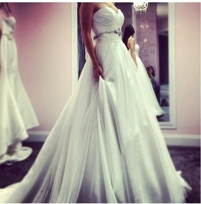 see more Long and stylish wedding dresses for ladies