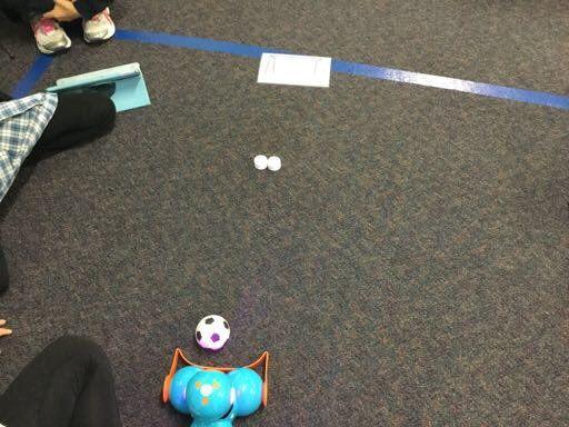 Dash plays soccer!