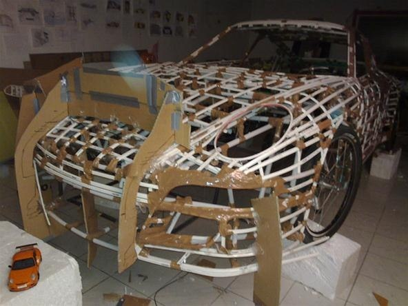 PVC Pipe Pedal-Powered Porsche