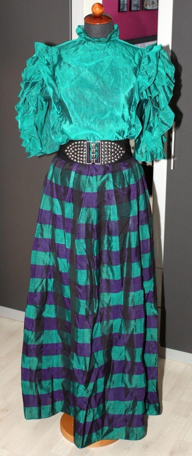 VINTAGE Ballkleid ~ Viktorianischer Stil ~ Bluse + Rock Gr.38 - Gouvernante - in Kleidung & Accessoires, Damenmode, Kleider | eBay