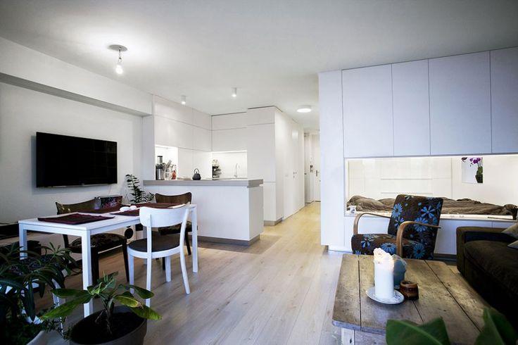 Diseño de interiores de apartamento pequeño