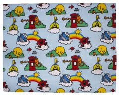 MR MEN & LITTLE MISS ~ Blue Fleece Blanket