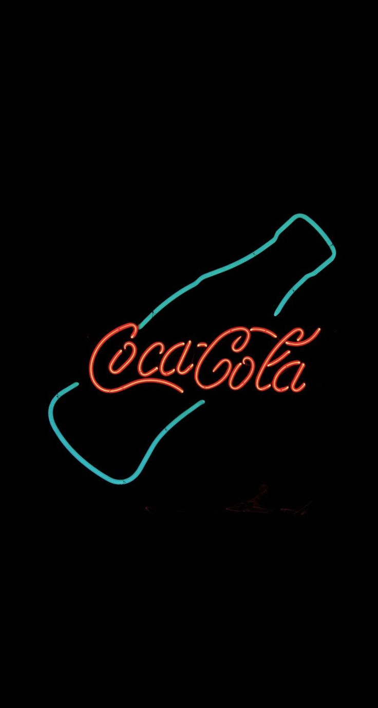Coca Cola Neon Sign iPhone 6 Plus HD Wallpaper - http://freebestpicture.com/coca-cola-neon-sign-iphone-6-plus-hd-wallpaper-2/