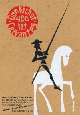 Don Quijote Polish movie poster by Michal Ksiazek
