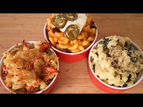 Mac & Cheese 3 Delicious Ways