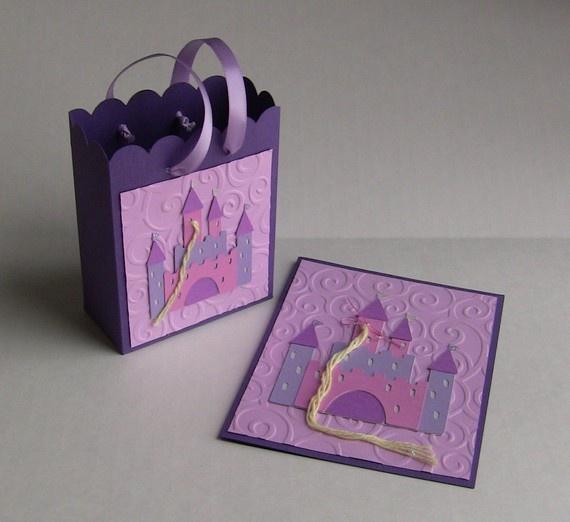 Tangled Rapunzel Favor Bag Set of 8 by CreationsbyCM on Etsy, $38.00