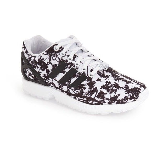 2844ea49e ... good core womens adidas zx flux sneaker 54 liked on polyvore featuring  shoes dab6e dbc3d