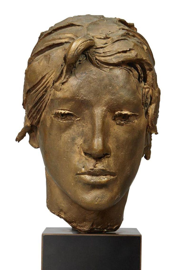 Giacomo Manzù (1908-1991) - Testa di Sonia