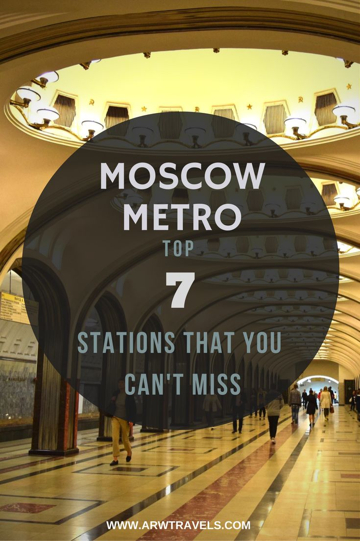 """Constructed during the Soviet times as """"the people's palace"""", Moscow has one of the most spectacular metros in the world. Check out the top 7 stations that you can't miss during your visit!"""