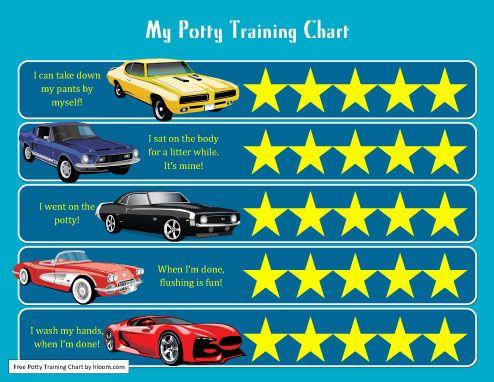 cars potty training