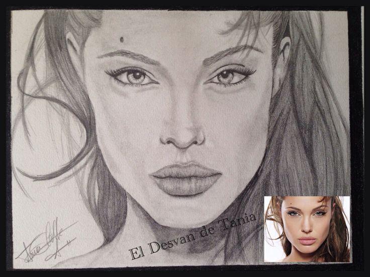 Angelina Jolie a grafito!!  Eldesvandetania.blogspot.com Facebook: el desvan de Tania  Twitter @El Desván De Tania