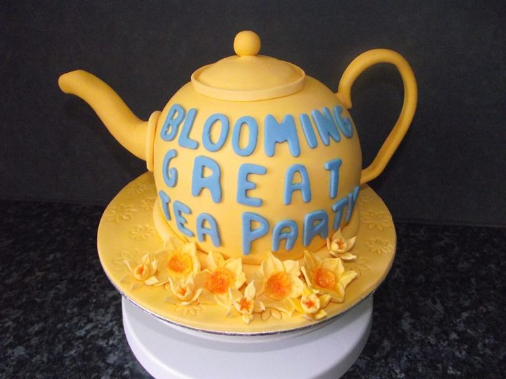 Lovely cake donated for the Blooming Great Tea Party! #cake