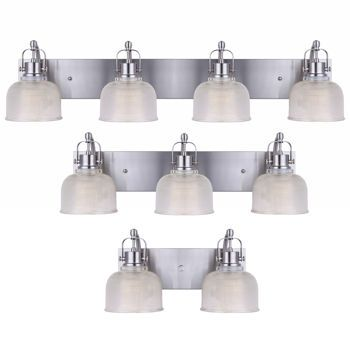 costco bathroom lighting costco messina brushed nickel vanity fixtures 69 2 12541