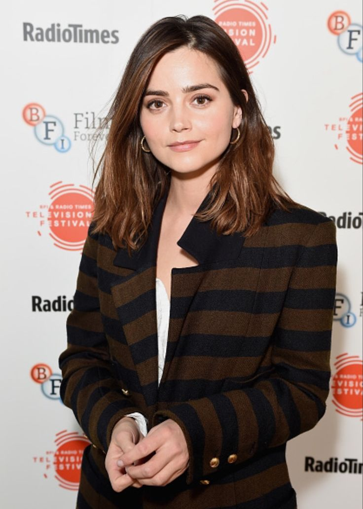 Jenna Coleman attends the BFI & Radio Times TV Festival at the BFI Southbank on April 8, 2017 in London, England. (Photo by Tabatha Fireman/Getty Images)