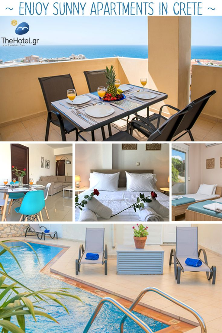 This summer, enjoy our sunny apartments in Chania Town! For more, visit our site TheHotel.gr  https://www.thehotel.gr/light-blue-apartment