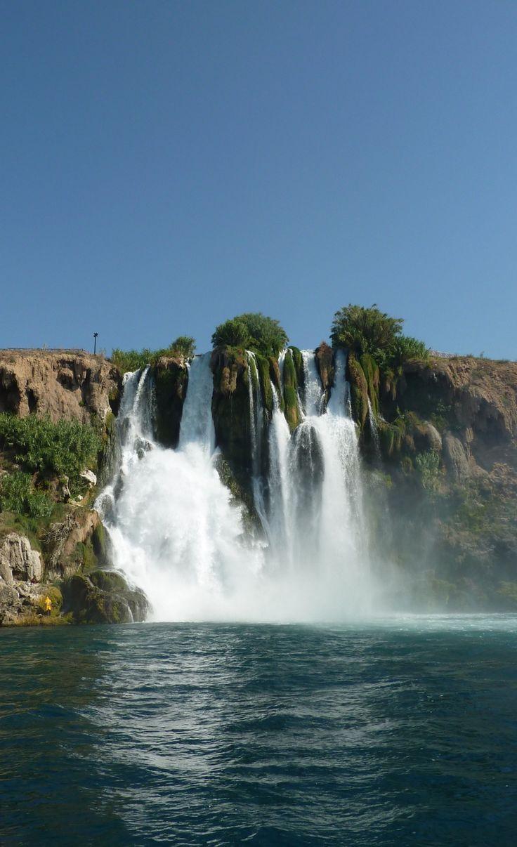 Antalya waterfall