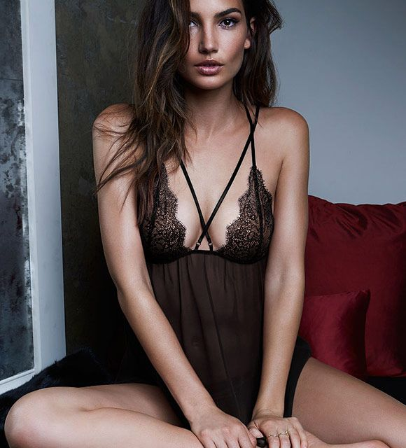 Chantilly Lace & Mesh Babydoll is part of the #lingerie collection on Haute Day.  Check out http://hauteday.com/