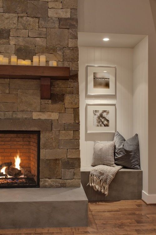 Beautiful fireplace surround!
