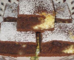 Šťavnatý tvarohový koláč (fotorecept)