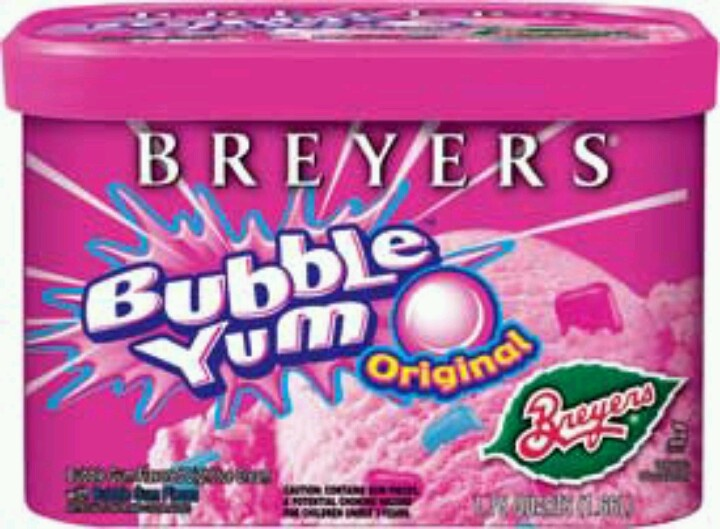 Bubble gum ice cream? GROSS! Do NOT like!!!! Seriously, how does ...