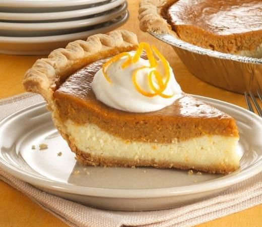 Cheesecake meets sweet potato pie in a creamy dessert that's made easily with a frozen pie crust.