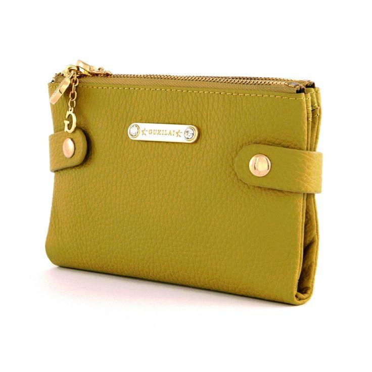 Damen Echt Leder Portemonnaie Geldbörse Geldbeutel Brieftasche Portmonee Frauen | eBay