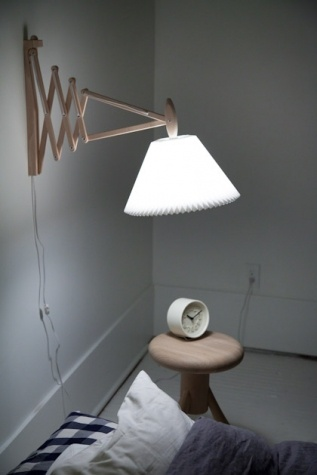 Le Klint.  I just love this sconce.