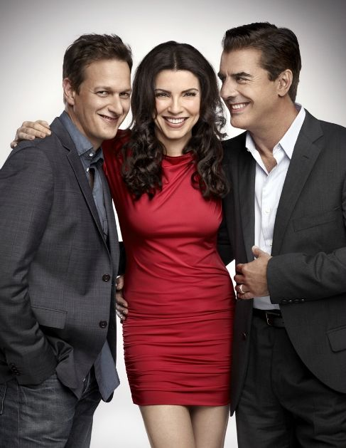 Josh Charles, Julianna Margulies, and Chris Noth