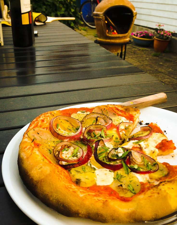 #Pizza from #mexican #oven.